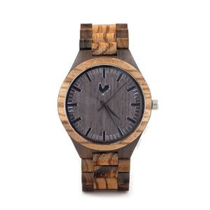 Buckeye Wood Watch White Rooster Groomsmen Gift